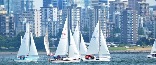 Cal20Fleet38.com English Bay, Vancouver